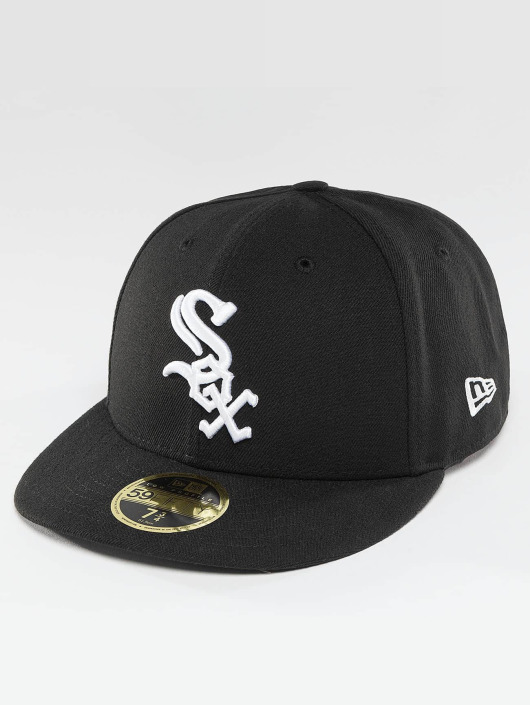 New Era Fitted Cap Authentic Performance Low Crown Chicago White Sox èierna