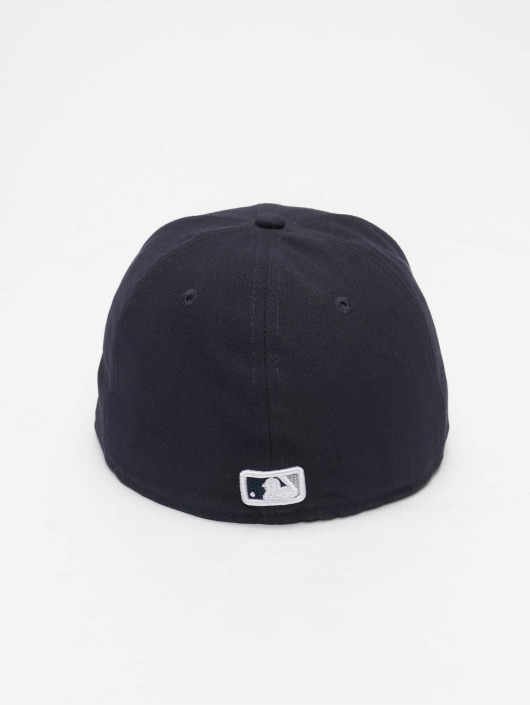New Era Fitted Cap Bevel Pitch NY Yankees 59Fify blå