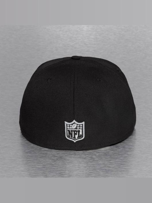 New Era Fitted Cap On Field 15 Sideline Oakland Raiders black