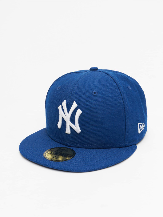 New Era Fitted Cap MLB Basic NY Yankees 59Fifty in blau 19057 407396844b4