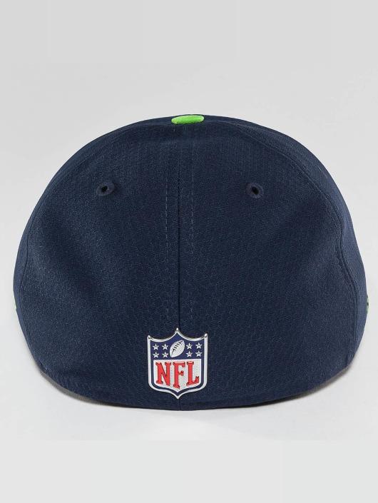 New Era Fitted Cap NFL On Field Seattle Seahawks 59Fifty blau