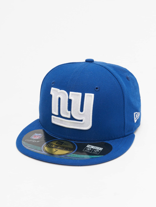 1648168124c New Era Fitted Cap NFL On Field NY Giants 59Fifty in blau 84140