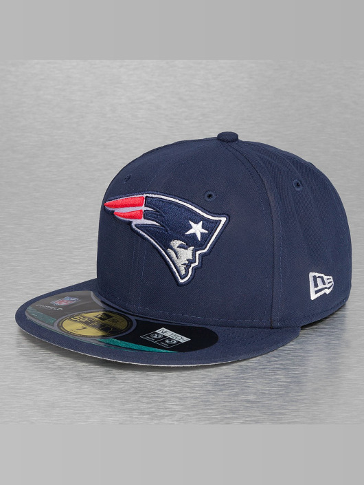 ... New Era Fitted Cap NFL On Field New England Patriots 59Fifty blauw ... 1a8fced1361