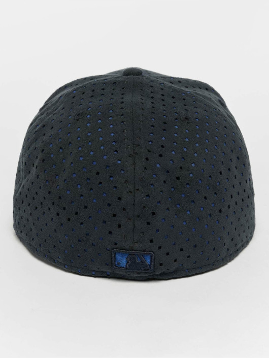 New Era Fitted Cap Suede Perf NY Yankees 59Fifty blu