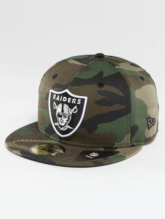 New Era Fitted Cap Oakland Raiders camouflage