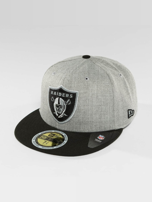 New Era Fitted Cap New Era Reflective Heather Oakland Raiders 59Fifty grå