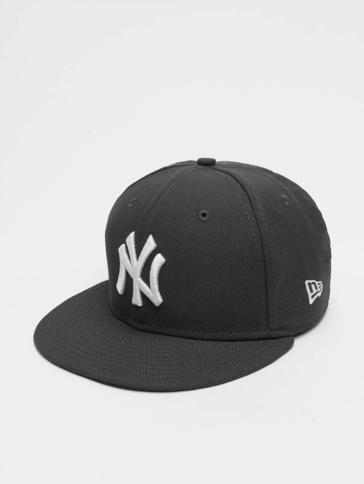 New Era Fitted Cap MLB Basic NY Yankees 59Fifty in grau 23586 a50a3baffe8