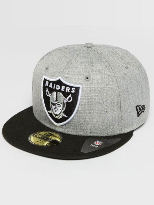 New Era Fitted Cap Oakland Raiders 59Fifty grau