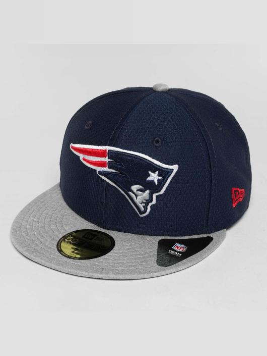 New Era Fitted Cap Dryera Tech New England Patriots 59Fifty grau