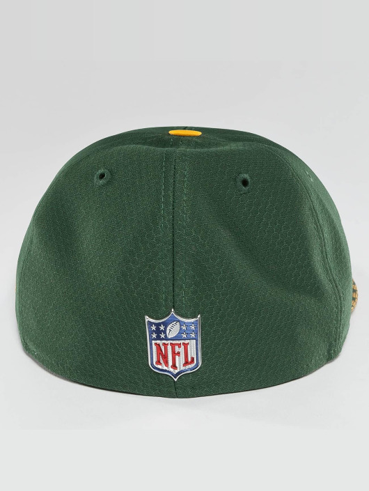 New Era Fitted Cap NFL On Field Green Bay Packers 59Fifty green