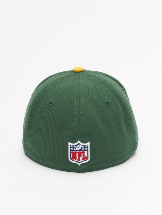 b914121ab10 ... New Era Fitted Cap NFL On Field Green Bay Packers 59Fifty groen ...