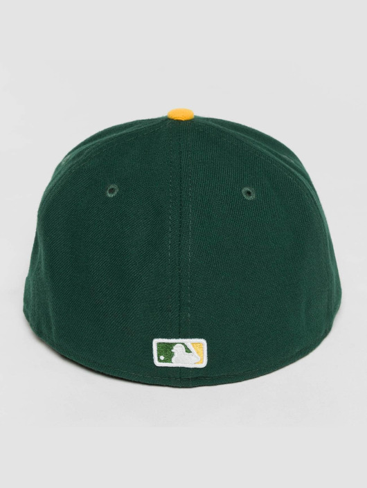 New Era Fitted Cap Acperf Oakland Athletics 59Fifty grün