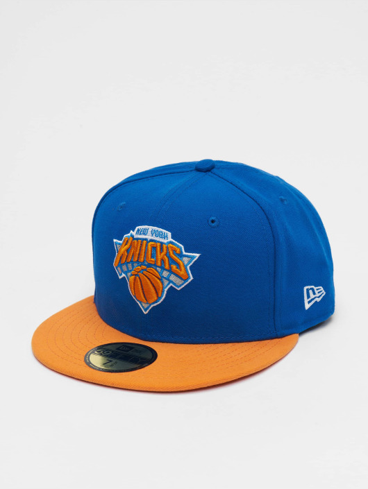 New Era Fitted Cap NBA Basic NY Knicks 59Fifty modrá