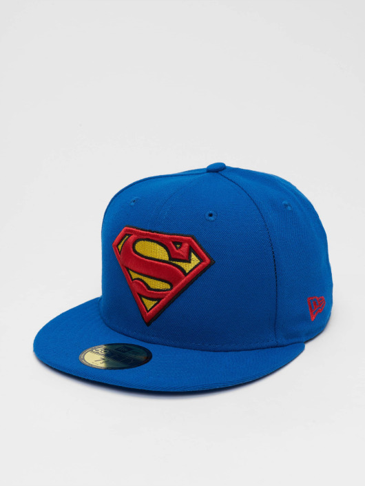 New Era Fitted Cap Character Basic Superman 59Fifty modrá