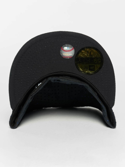 New Era Fitted Cap Suede Perf NY Yankees 59Fifty niebieski