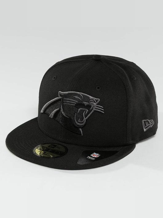 New Era Fitted Cap Black Graphite Carolina Panthers 59Fifty svart