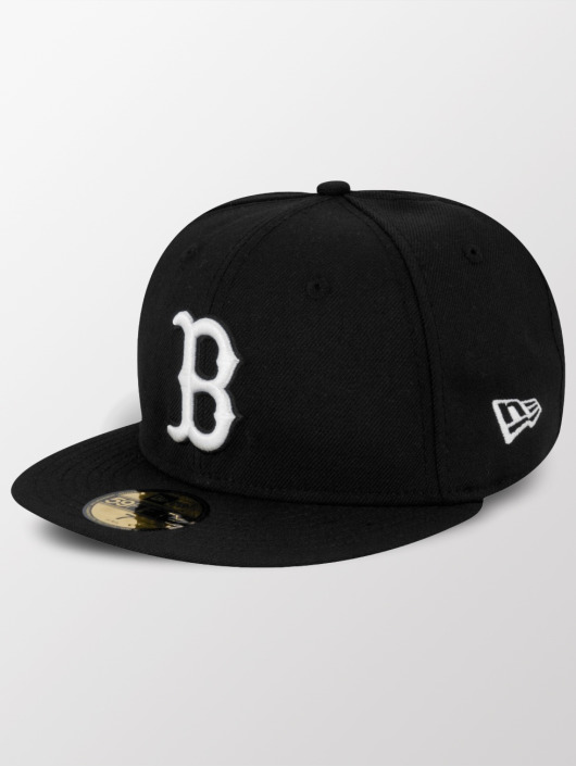 New Era Fitted Cap MLB Basic Boston Red Sox Pitching svart