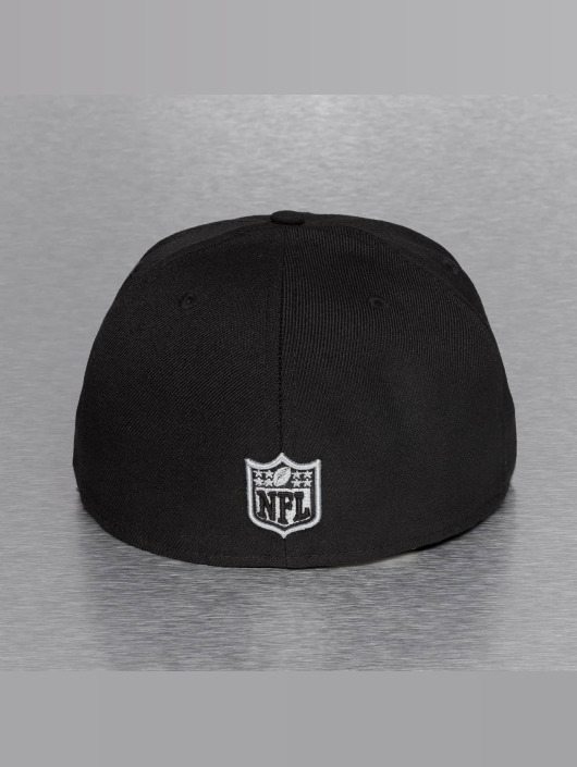 New Era Fitted Cap On Field 15 Sideline Oakland Raiders zwart