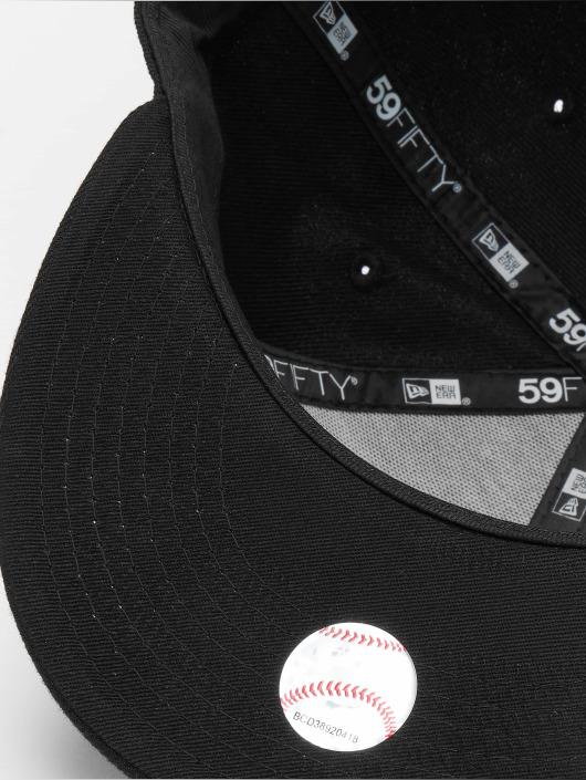 8fab83e97b1fd New Era Cap   Fitted Cap Black On Black NY Yankees in zwart 2933