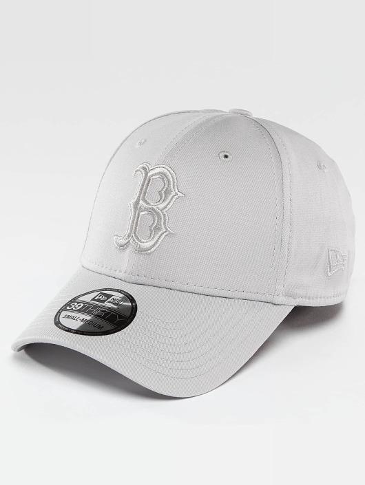 New Era Flexfitted Cap MLB League Essential Boston Red Sox šedá