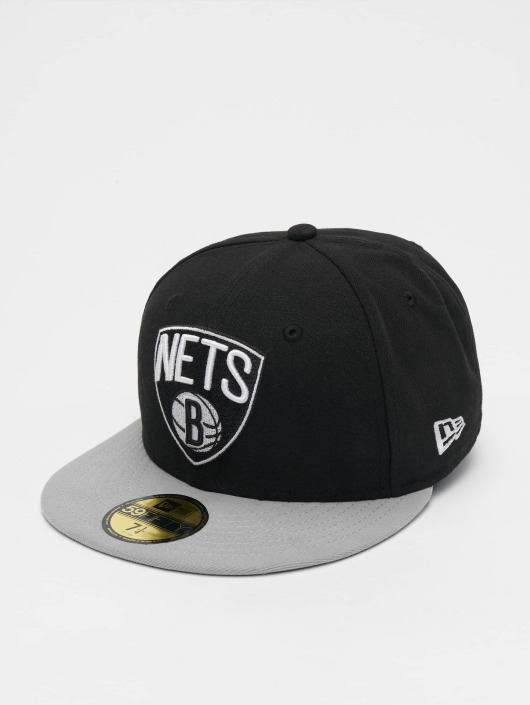 8afc0625e1b66 New Era Gorra   Gorra plana NBA Basic Brooklyn Nets 59Fifty en negro ...