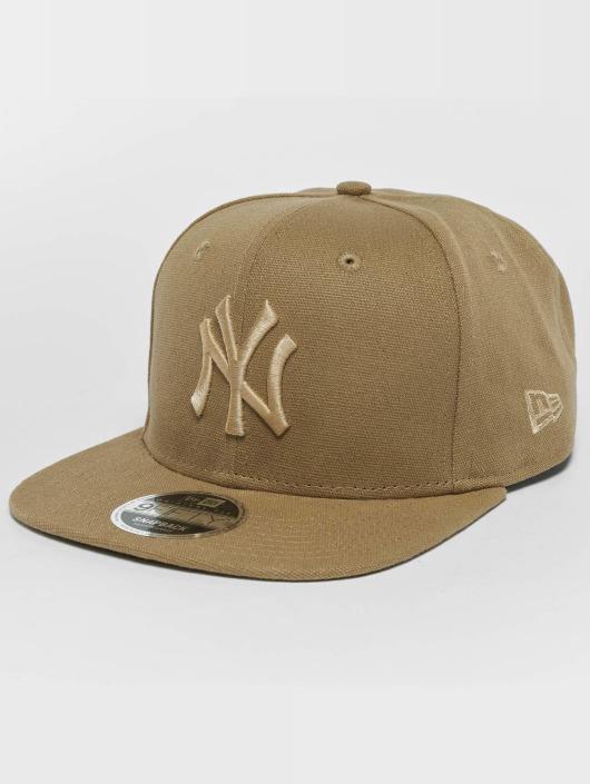 New Era Gorra Snapback Canvas NY Yankees 9Fifty beis