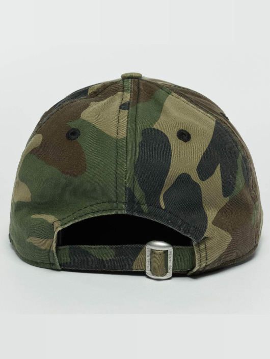 New Era Snapback Cap Washed Camo Chicago Bulls 9Forty camouflage