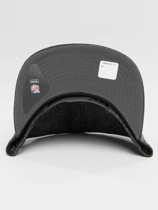 New Era Snapback Cap Jersey Tech Oakland Raiders 9Fifty gray