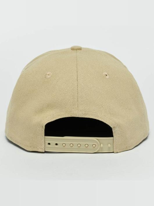 New Era Snapback Caps Canvas LA Dodgers 9Fifty beige