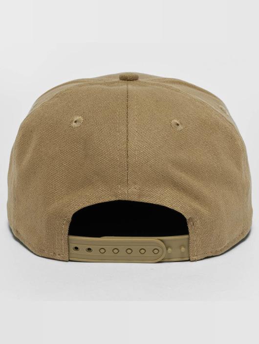 New Era Snapback Caps Canvas NY Yankees 9Fifty bezowy