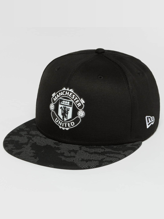 New Era Snapback Caps Reflect Camo UTD czarny