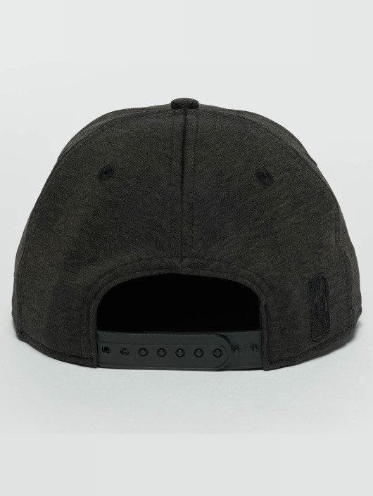 New Era Snapback Caps Concrete Jersey Chicago Bulls 9Fifty czarny