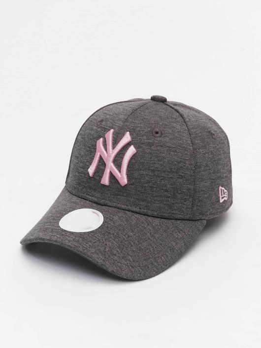 New Era Snapback Caps Tech Jersey NY Yankees 9Forty grå