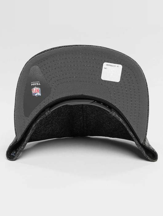 New Era Snapback Caps Jersey Tech Oakland Raiders 9Fifty grå