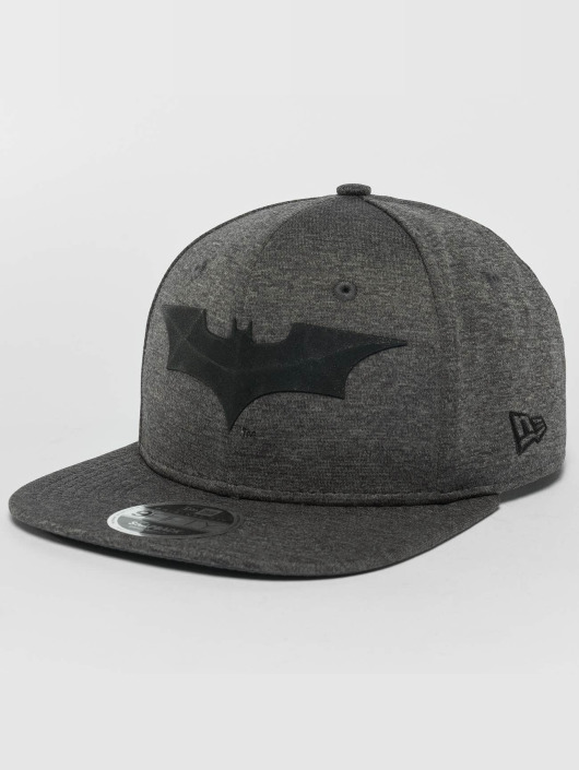 New Era Snapback Caps Concrete Jersey Batman 9Fifty grå