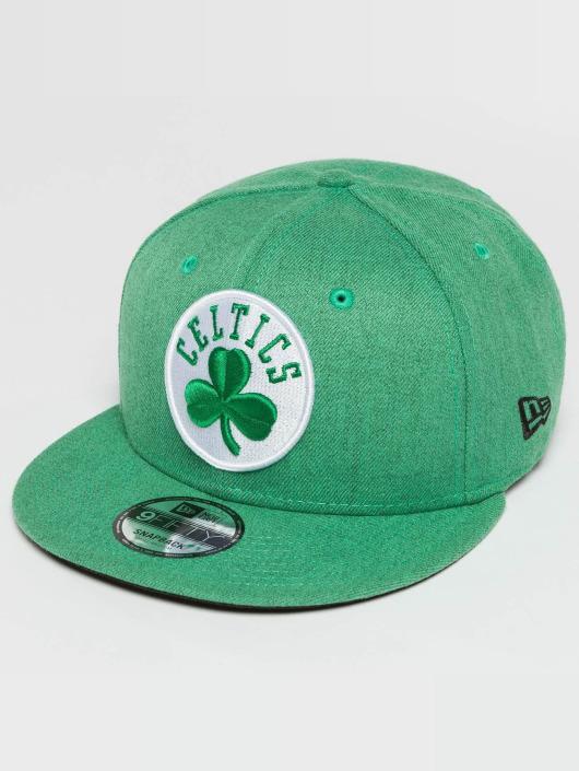 New Era Snapback Caps Team Heather Boston Celtics 9Fifty grøn