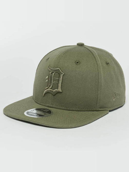 New Era Snapback Caps Canvas Detroit Tigers 9Fifty khaki