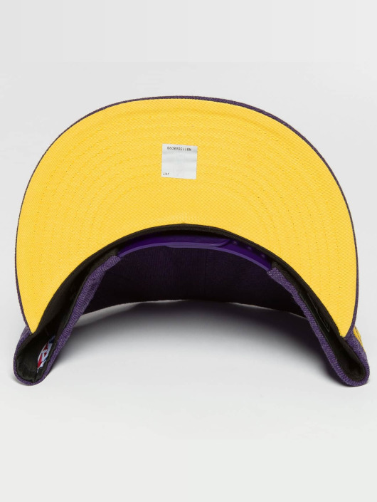 New Era Snapback Caps Team Heather LA Lakers lilla