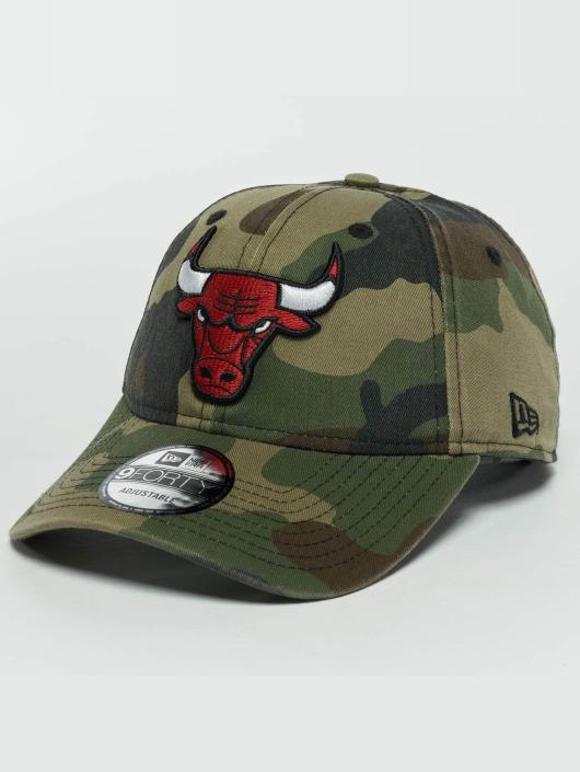 New Era Snapback Caps Washed Camo Chicago Bulls 9Forty moro