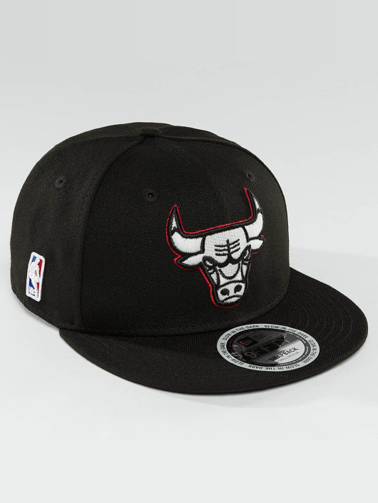 New Era Snapback Caps Team GITD Basic Chicago Bulls 9Fifty musta