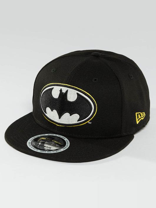 New Era Snapback Caps Team GITD Basic Batman 9Fifty musta