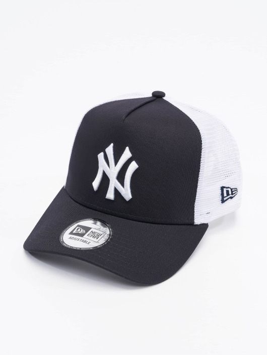 New Era Trucker Caps Clean NY Yankees modrý