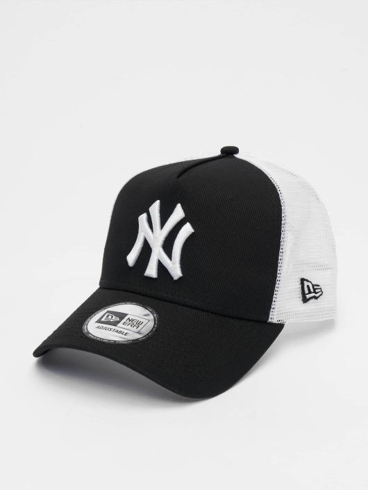 New Era Trucker Caps Clean NY Yankees svart
