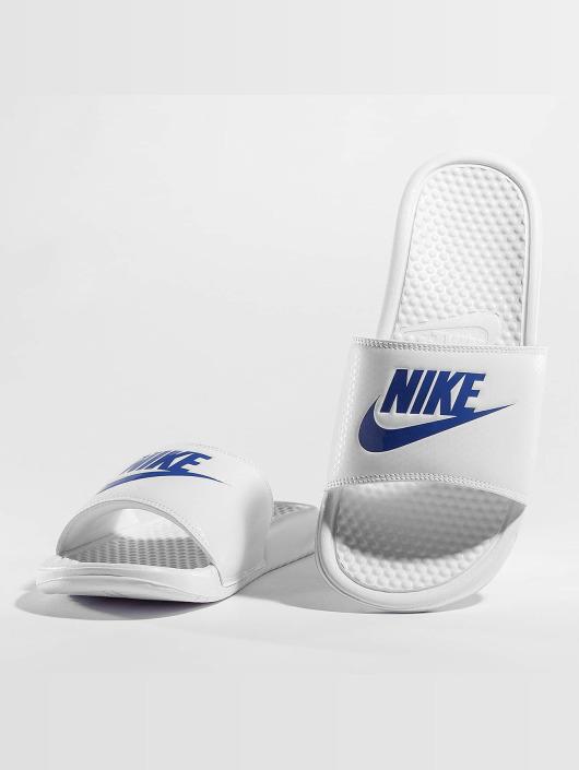 Nike Badesko/sandaler Benassi JDI hvit