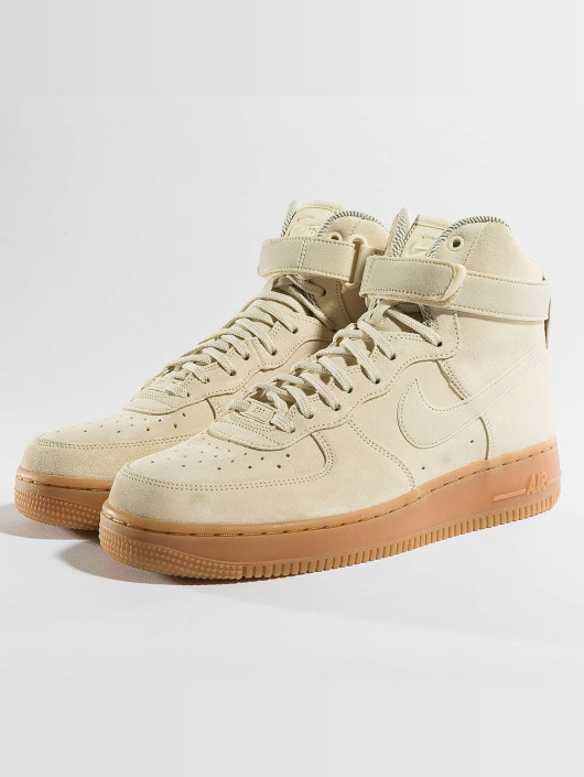 Nike Baskets Air Force 1 Hi Se beige ...