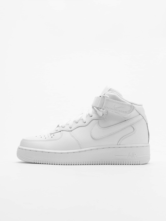 official photos 951fe a20e7 ... blanc Nike Baskets Air Force 1 Mid 07 Basketball Shoes ...