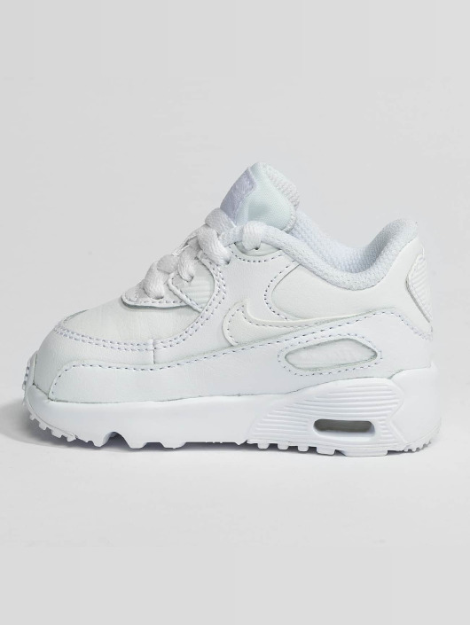 Nike Air Max 90 Leather Toddler Sneakers WhiteWhite