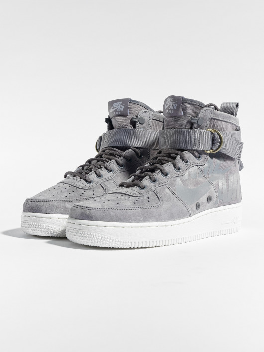 online store d248b 8ec20 ... Nike Baskets Sf Air Force 1 Mid gris ...