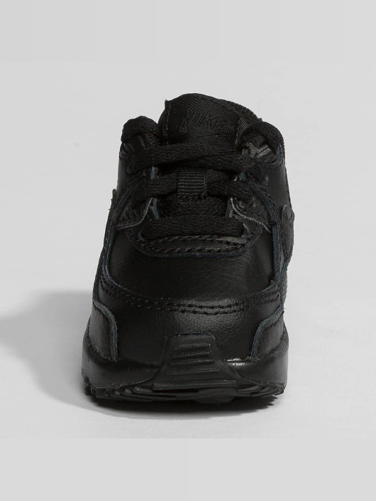 detailed look 540f1 5f8a1 ... Nike Baskets Air Max 90 Leather Toddler noir ...