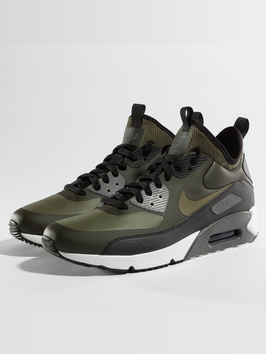 ... Nike Baskets Air Max 90 Ultra Mid Winter olive ...